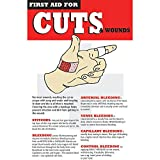 "Cut and Wound Care Safety Poster Laminated - 11""L x 17""H"