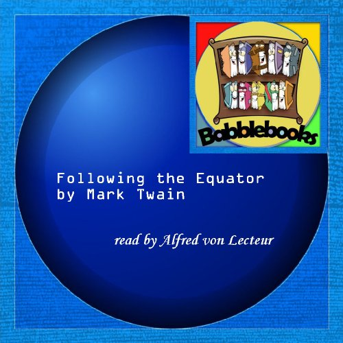 Following the Equator Mark Twain