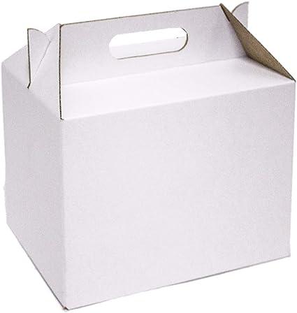 Kartox | Caja Picnic Maxi de Cartón Blanco | Caja para Fiestas ...