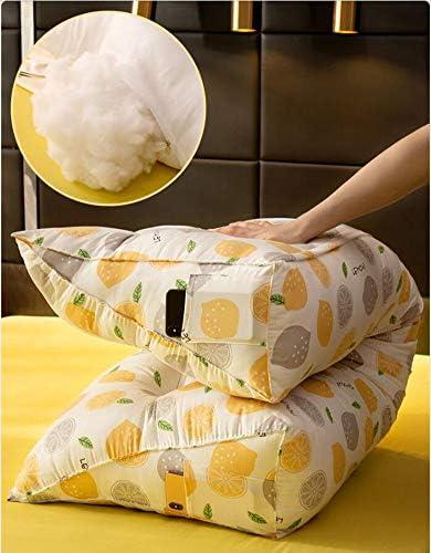 JYMBK Coussin Triangulaire De Lecture De Coin,Tatami Bedside Back Cushion Positioners,Dessin Animé Soutien Au Cou Coussin De Tête De Lit L 180x23x50cm(71x9x20inch)