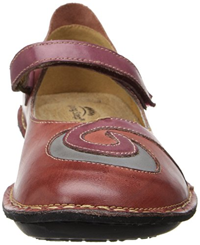 Spring Step Womens Cosmic Mary Jane Rosso Piatto