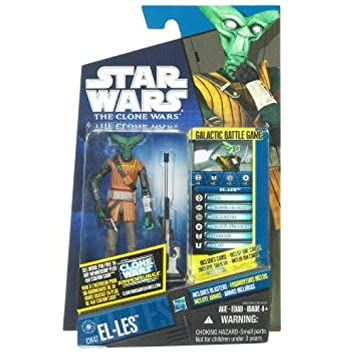 Star Wars Clone Wars El-Les CW47 [Toy]: Amazon.es: Juguetes ...