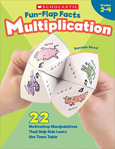 Fun-Flap Facts: Multiplication, Grades 2-4 -