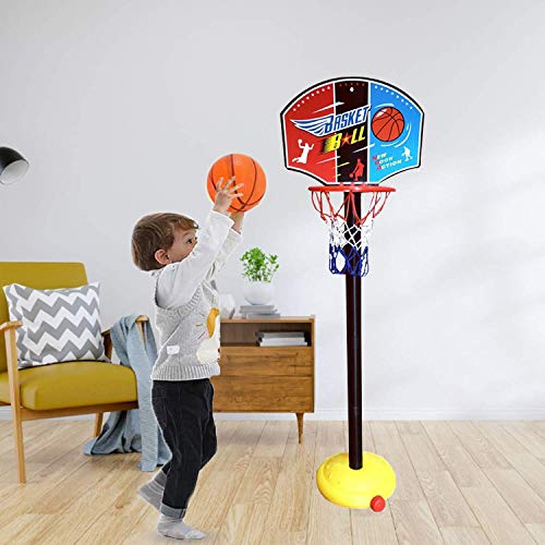 YOHE Toddlers Gifts Toys for 1-5 Year Old Boys Girls,Toy Basketball Set for Kids,Educational Toys Age 1 2 3 4 5,Holiday Birthday Festival Gifts for Kids Age 1-5