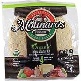 Molinaro's Organic Stone Baked Pizza Crust Kit w/Gourmet Tomato Sauce Pouches