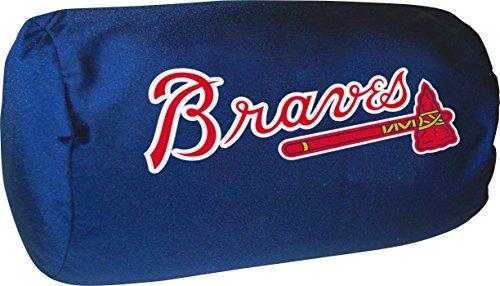 Atlanta Braves Pillow - Officially Licensed MLB Atlanta Braves Bolster Pillow