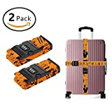 SWEET TANG 3 Dial Combination Lock Luggage Strap Ancient Egypt Clipart [Set of 2]