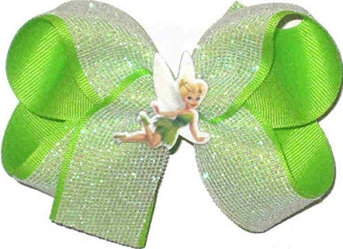 DS-260M Medium Tinkerbell Double Layer Overlay Bow ()