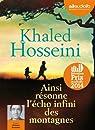 Ainsi résonne l'écho infini des montagnes: Livre audio 2 CD MP3 - 651 Mo + 641 Mo par Hosseini