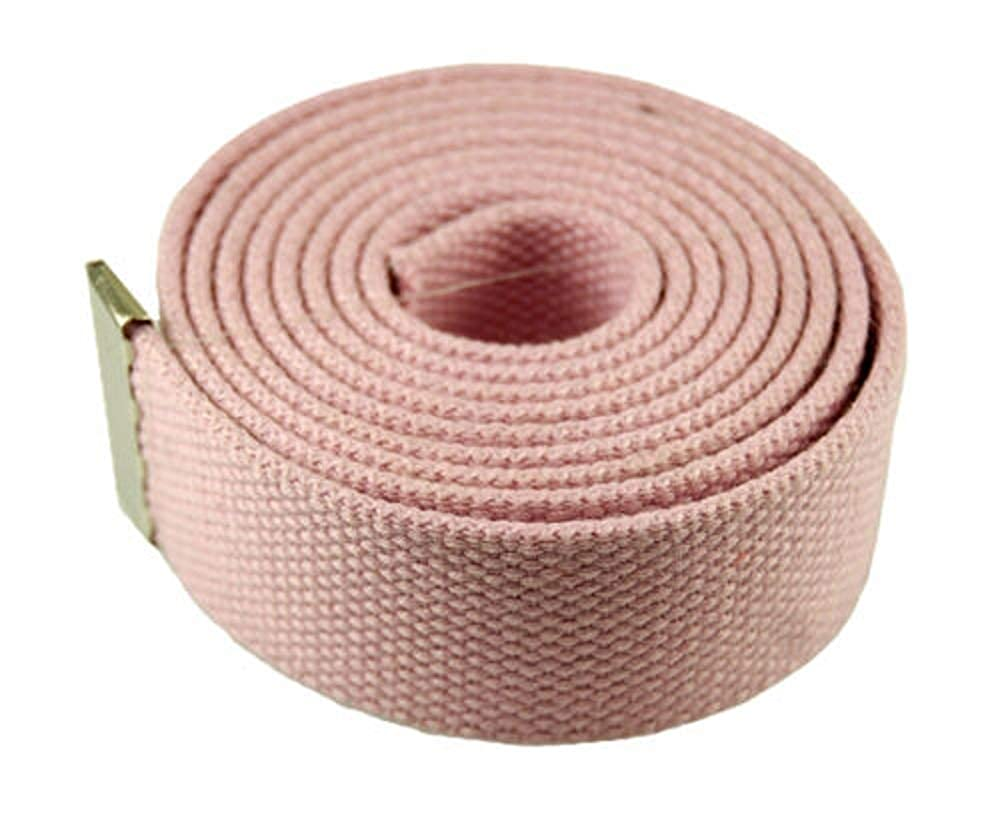 L-PINK #AAAS Top Quality Canvas Military Web BeltFlip Black Belt /& Buckle 60