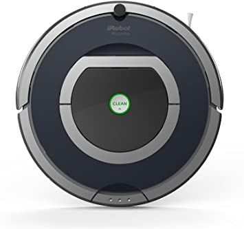 iRobot Roomba 785 - aspiradoras robotizadas (Gris, Plata, Sin bolsa, Alfombra, Clim, 60 Db, Níquel-Hidruro metálico (NiMH), 120 m²): Amazon.es: Hogar