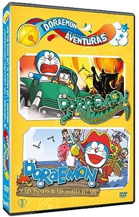 Pack Doraemon Aventuras: Los Caballeros Enmascarados + Piratas De ...
