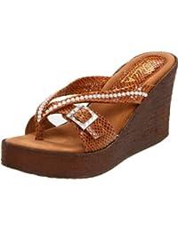 Women's Horizon Snake Wedge Sandal