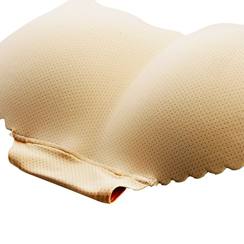 Andux Zone Ropa Interior Acolchada sin Costuras de la Mujer-Esponja Femenina Botín Padded Panty SS-NK01 Piel
