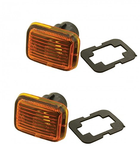(Land Rover Discovery 1 1994-1999 Side Marker Repeater Light LAMP Set Part: PRC9916)