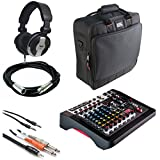 allen and heath usb mixers - Allen & Heath ZEDi-10FX Compact Hybrid Mixer/USB Interface + Gator Cases G-MIXERBAG + Headphone + XLR Mic Cable + Instrument Cable & Stereo Cable