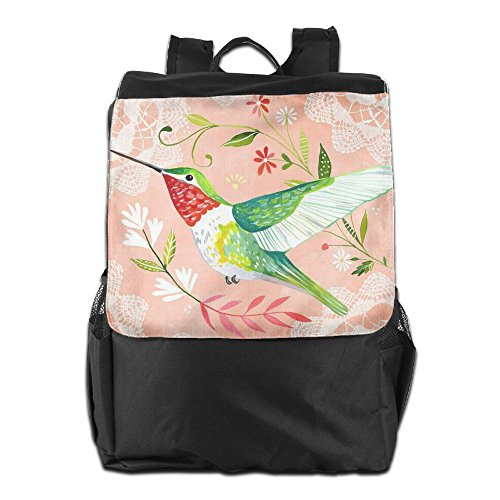 Strap Outdoors Dayback For Birds Backpack And Women Men Adjustable Travel HSVCUY Shoulder Beautiful Personalized Camping Storage School AgAqv7n