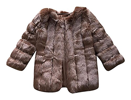Brown Sheared Beaver Stroller - 5