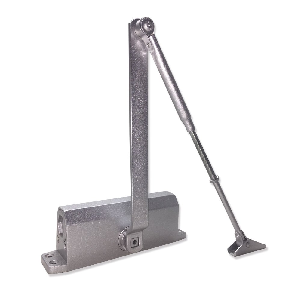 Studyset 35kg Aluminum Commercial Door Closer Two Independent Valves Control Sweep