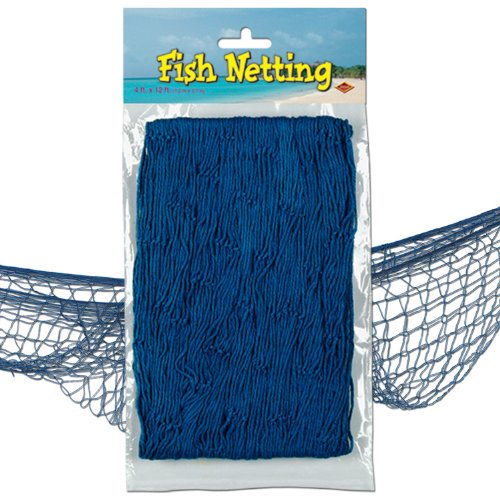 (Beistle 50301-B Decorative Fish Netting, 4 by 12-Feet)