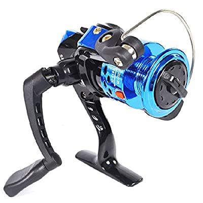 ABS Spool Blue 3BB Fishing Spinning Reel Left/Right High Speed 5.1:1