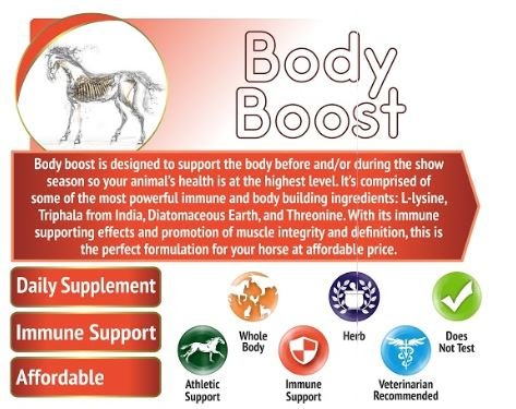 Animal Element Body Boost - 3 Lb. - Organic, GMO Free, Supports Healthy Muscles and Boosts Immune System