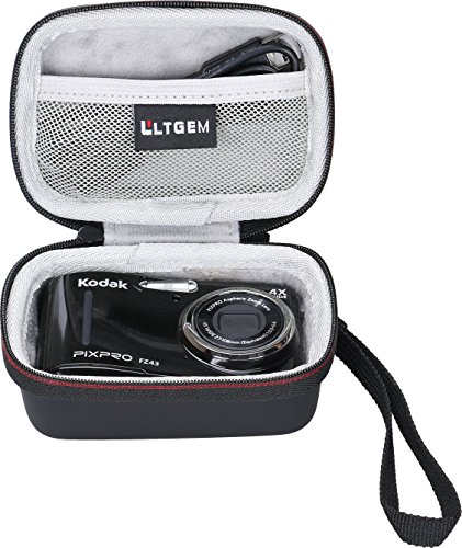 LTGEM EVA Hard Case for Kodak PIXPRO Friendly Zoom FZ43 16 MP Digital Camera - Travel Protective Carrying Storage Bag