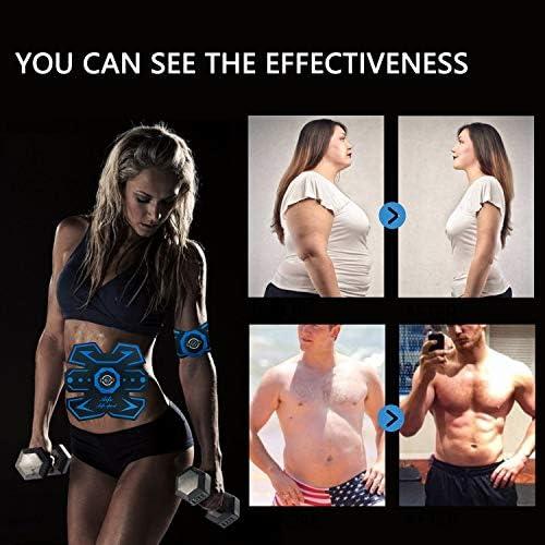 Abs Stimulator Abs Trainer Abdominal Trainer Ultimate Abs Trainer Ab Trainer Men Women Work Out Ads Power Abs Training Gear Workout Equipment Portable Trainer Abs Belt 4
