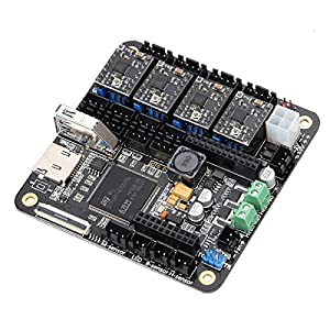 TWP 3D Printer Mainboard Lerdge with Thermistor 32bit Controller 4pcs A4988 Support XYZ Delta Corexy Hbot Scara Arm Models by szsdsway
