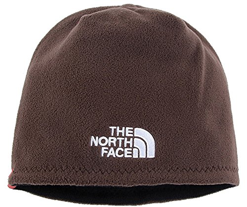 The North Face Winter Thicken Polar Fleece Thermal Beanie Hat (Coffee, One Size)