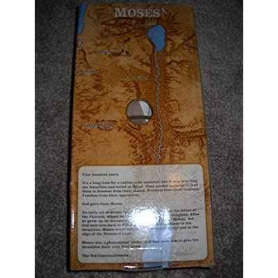 Messengers of Faith Talking Moses Doll: Toys & Games