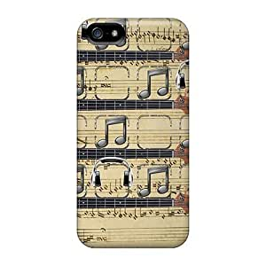 DscGZne3052ZNGKi Faddish Music Note Shelf Case Cover For Iphone 5/5s by icecream design
