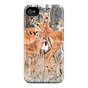First-class Case Cover For Iphone 5/5s Dual Protection Cover Herd Of Deer