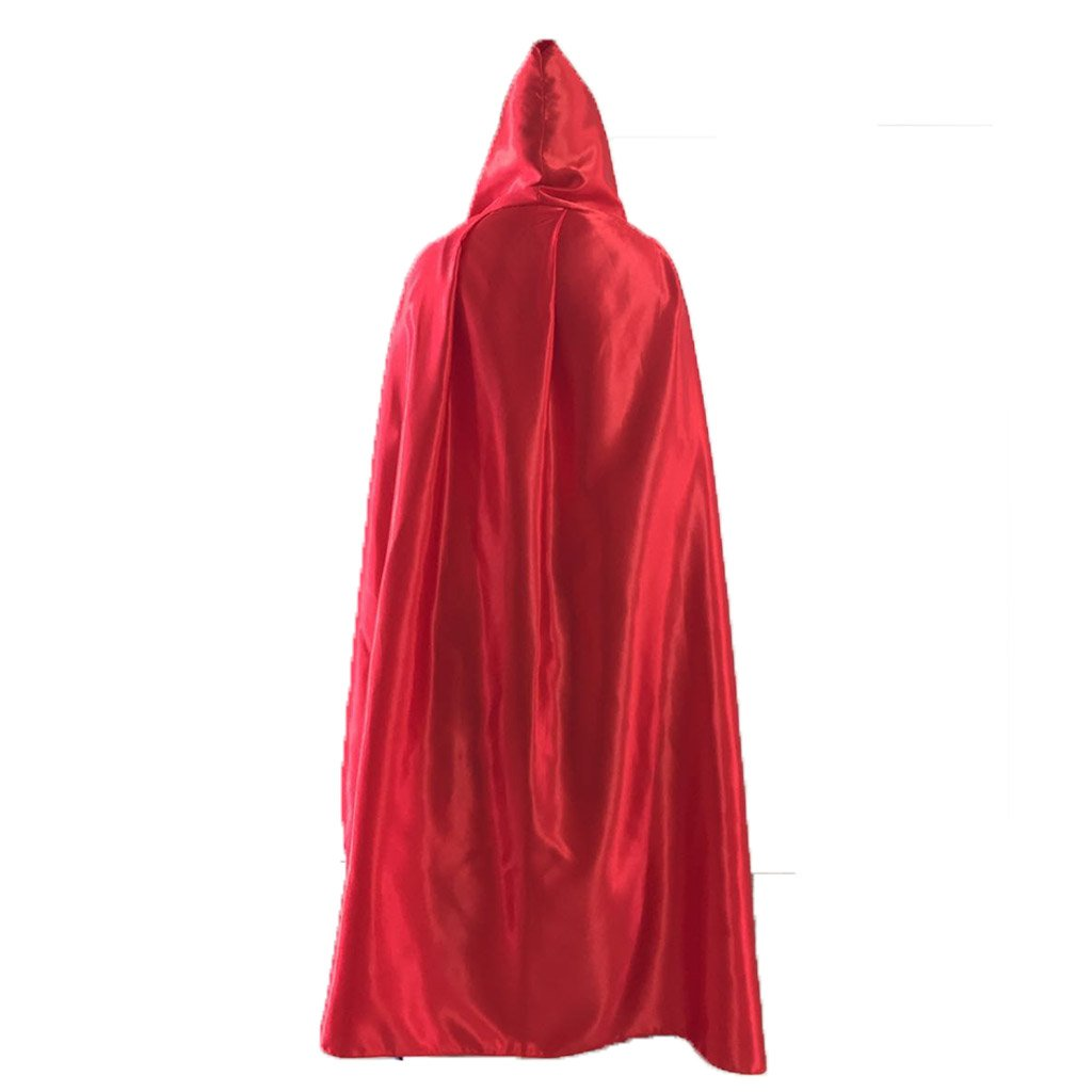 Charming House Halloween Unisex Hooded Long Cape Cloak Cosplay Costume
