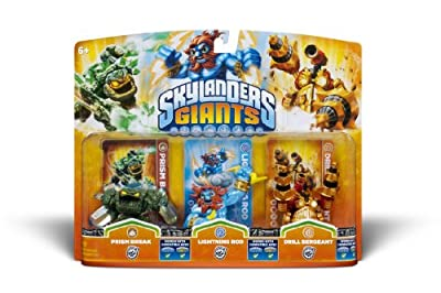 Activision Skylanders Giants Triple Pack 1 from Activision