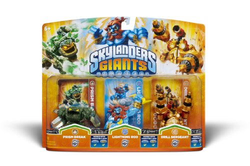 Activision Skylanders Giants Triple Pack #5 (Prism Break, Lightning Rod & Drill Sergeant) by Activision