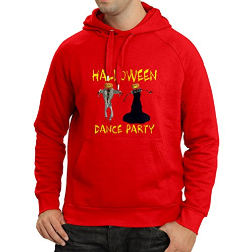 Hoodie Cool Outfits Halloween Dance Party Events Costume Ideas (X-Large Red Multi Color) -