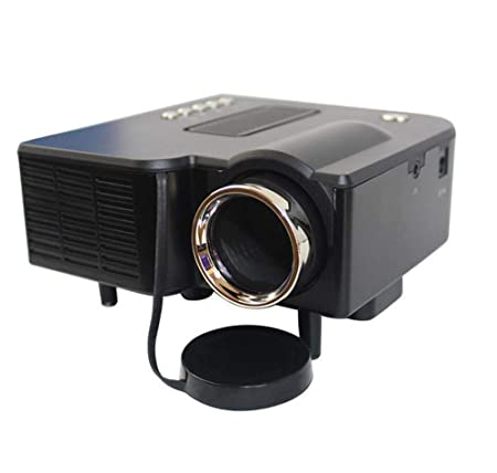 ZY Proyector UC28 + Mini LED Casero Micro-Conectado Android Apple ...
