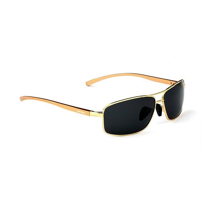 VEITHDIA polarizadas Aviator Gafas de sol 100% UV400 protección para hombres pesca, Ciclismo,