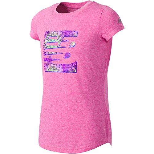 32b186f08b4 New Balance Girls  Short Sleeve Graphic Tees
