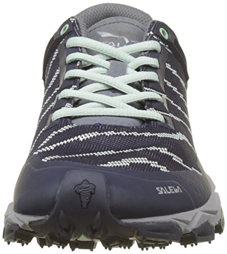 Salewa Da Donna Lite Train Trail Runner Premium Blu / Verde Tenue