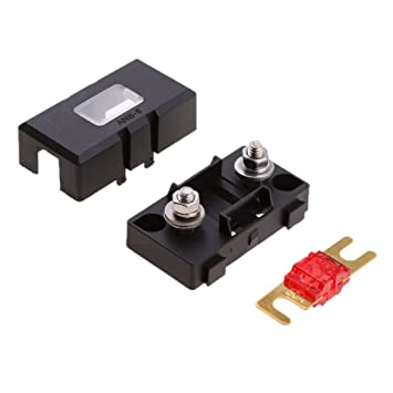 magideal inline ans fuse holder box block circuit breaker 32v 50a rv car  marine: amazon in: car & motorbike