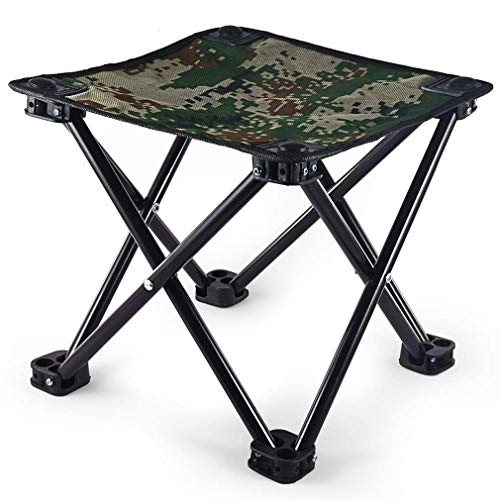 (Dove Hunting Chair Mini Folding Camping Stool Chair, Portable Camping Fishing Chair Mini Folding Stool is Made of Oxford Fabric and Steel Pipe. It Can Bear.up to 441lbs Weight)