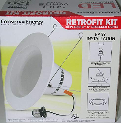 Feit 120W equivelant 1250 Lumens LED Retrofit KIT Dimmable