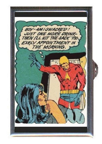 Drunk Superhero Sexy Brunette Coin, Mint or Pill Box: Made in (Brunette Superheroes)