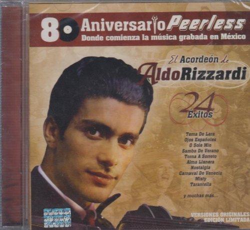 Price comparison product image El Acordeon De Aldo Rizzardi 24 Exitos 80 Aniversario Peerless
