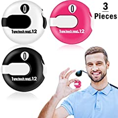 Features: What you get: You will receive 3 pieces of golf stroke counters of 3 different colors, enough for your daily use and replacement, share with your sports team, you can also choose this to be a good gift for golf lovers. Portable desi...
