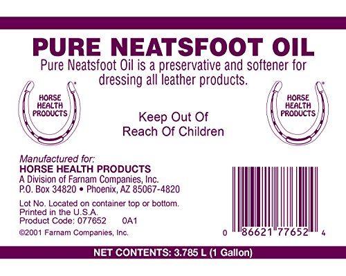 Horse Health Pure Neatsfoot Oil, 1 gallon by Farnam (Image #1)