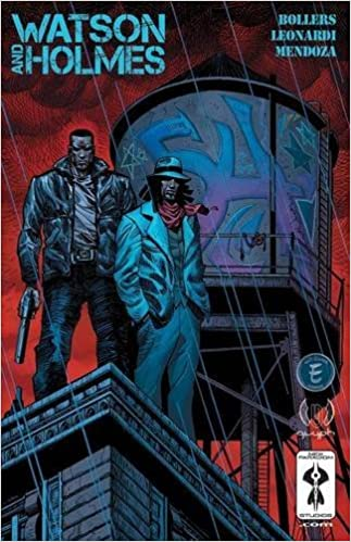 Image result for watson and holmes comic
