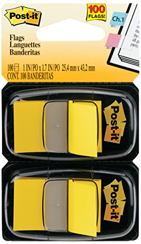 post-it-flags-value-pack-yellow-1-inch-wide-50-dispenser-12-dispensers-pack
